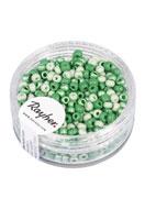 www.snowfall-beads.es - Rayher mezcla de mostacillas/rocallas/abalorios para bordar de vidrio 8/0 3x2,6mm - E03214
