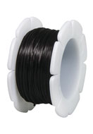 www.snowfall-beads.es - Rayher hilo de nylon elástico plano 1mm - E03220