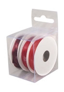www.snowfall-beads.co.uk - Rayher mix satin ribbons 3mm (3 x 6 meter) - E03227
