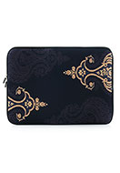 www.snowfall-fashion.co.uk - Laptop sleeve 15,4 inch with Paisley print - F05606