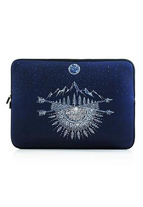 www.snowfall-fashion.fr - Etui pour ordinateur portable 15,6 pouces - 16 pouces avec imprimé bohemian