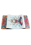 www.snowfall-fashion.co.uk - Rubber Yoga mat with mandala print 183x61x0,5cm - F05915
