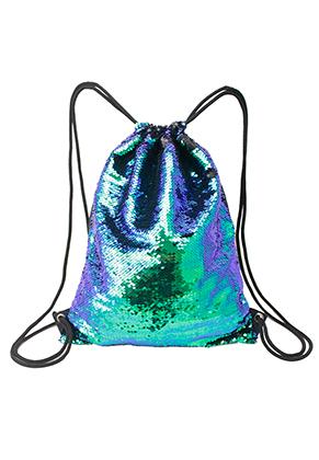 www.snowfall-fashion.fr - Sac à dos avec paillettes réversibles 42,5x33,5cm