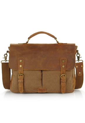 www.snowfall-fashion.co.uk - Leather laptop sleeve / laptop bag 15,4 inch 36x28x10cm