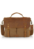 www.snowfall-fashion.com - Leather laptop sleeve / laptop bag 15,4 inch 36x28x10cm - F06135