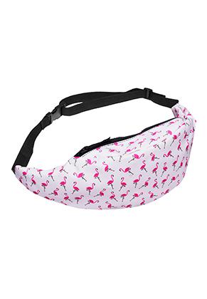www.snowfall-fashion.co.uk - Bum bag with flamingo's
