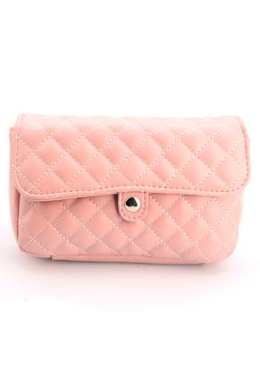 www.snowfall-fashion.co.uk - Imitation leather bum bag/shoulder bag quilted
