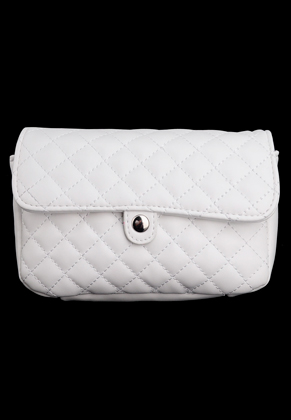 www.snowfall-fashion.co.uk - Imitation leather bum bag/shoulder bag quilted