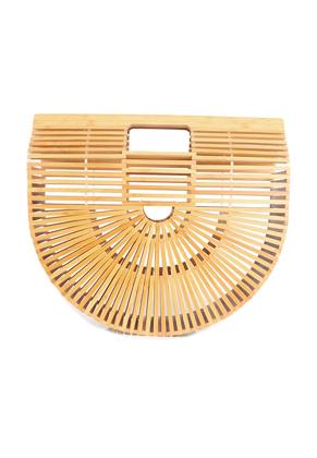 www.snowfall-fashion.com - Bamboo handbag 33x30x10cm