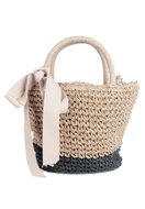 www.snowfall-fashion.com - Straw shoulder bag - F06362