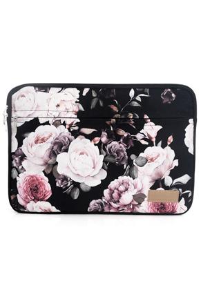 www.snowfall-fashion.fr - Misstella etui pour ordinateur portable 17 pouces avec fleurs 46x34x2,5cm