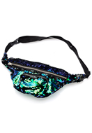 www.snowfall-fashion.co.uk - Bum bag with reversible sequins - F06498