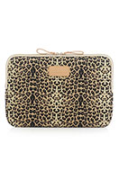 www.snowfall-fashion.nl - Kayond laptop sleeve 15,4 inch met panterprint 38x26x2cm - F06509
