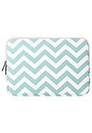 www.snowfall-fashion.com - Laptop sleeve 15,4 inch with Zig Zag print 37x26x2cm - F06670