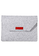 www.snowfall-fashion.nl - Vilten laptop sleeve 17 inch 46x32,5x1,5cm - F06672