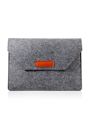 www.snowfall-fashion.be - Vilten laptop sleeve 13 inch 36x25,5x1,5cm