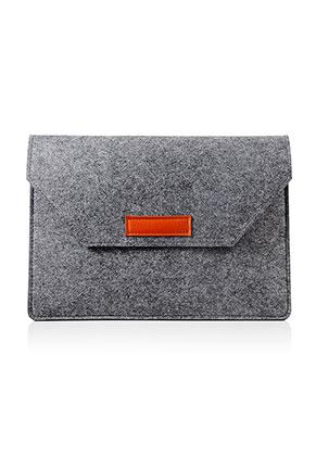 www.snowfall-mode.be - Etui pour ordinateur portable 13 pouces en feutrage 36x25,5x1,5cm