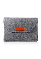 www.snowfall-fashion.com - Felt laptop sleeve 13 inch 36x25,5x1,5cm - F06761