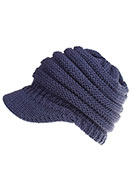 www.snowfall-fashion.com - Ponytail hat - F06775