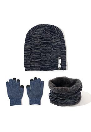 www.snowfall-fashion.de - Set von Mütze, Touchscreen Handschuhe und Schlauchschal