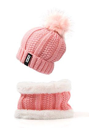 www.snowfall-fashion.de - Set von Mütze und Schlauchschal