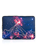 www.snowfall-fashion.com - Laptop sleeve 13,3 inch with bohemian print 34x24x2cm - F06847