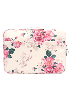www.snowfall-fashion.com - Laptop sleeve 13,3 inch with roses 35x25x3cm