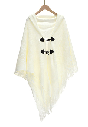 www.snowfall-fashion.nl - Open poncho/cape 150x90cm