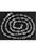 www.snowfall-beads.nl - Zilveren halsketting (925) met sluiting ± 45mm (± 5x2,5mm) (sluiting ± 7,5x6mm)