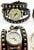 www.snowfall-beads.de - Lederen Armbanduhr (2,8cm) 3 doppelt mit Studs ± 60x1cm, verstellbar, Innenmaß ± 15-17cm