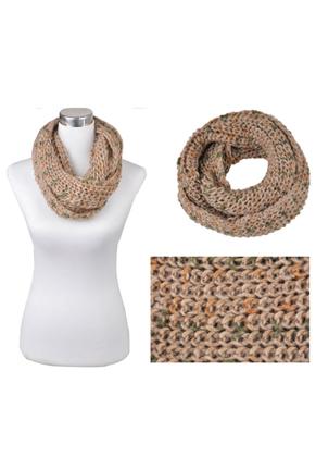 www.snowfall-beads.com - Wool cowl scarf (polyester) ± 60x22cm