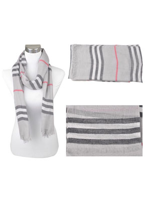 www.snowfall-beads.com - Textile (voile) scarf ± 190x90cm