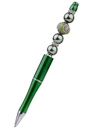 www.snowfall-beads.nl - Kralenpen met Kashmiri kraal 15cm