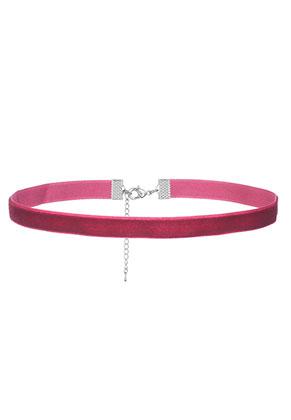www.snowfall-beads.fr - Choker en velours 34-40cm, 1cm largeur