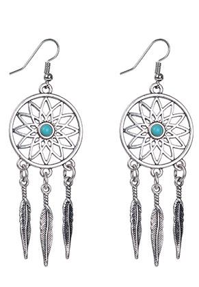 Snowfall Fashion Co Uk Dreamcatcher Earrings 80mm