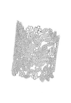 www.snowfall-beads.fr - Bracelet manchette 16cm