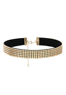 www.snowfall-fashion.nl - Choker 29-36cm, 1,6cm breed - J04589