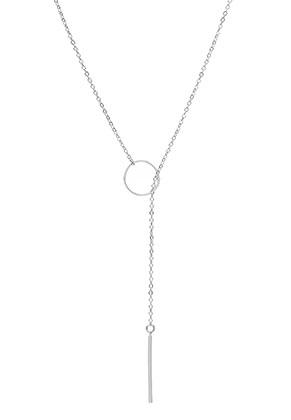 www.snowfall-beads.be - Lariat ketting 45cm
