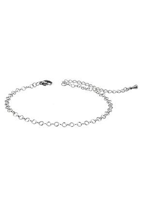 www.snowfall-beads.de - Edelstahl Armband 19-24cm