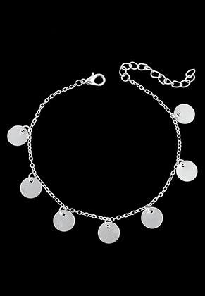 www.snowfall-beads.nl - Armband/enkelbandje met bedels rond 22-26cm