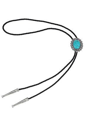 www.snowfall-beads.com - Bolo tie necklace 100cm
