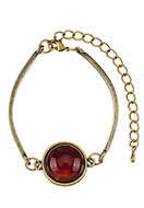 www.snowfall-fashion.com - Bracelet with natural stone Red Agate 18-21cm - J05642