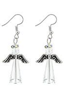 www.snowfall-beads.com - Angel earrings 50x21mm - J05777