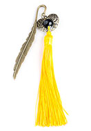 www.snowfall-beads.com - Bookmark with tassel and gift box 116x14mm - J06076