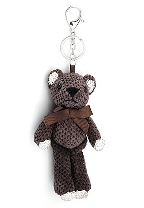 www.snowfall-beads.fr - Porte-clés avec ours