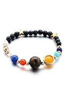 www.snowfall-beads.de - Naturstein Armband, elastisch 17cm - J06594