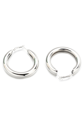 www.snowfall-beads.com - Brass hoop earrings 55x49mm