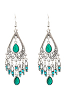 www.snowfall-beads.com - Earrings with strass 85x30mm - J07081