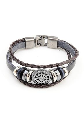 www.snowfall-beads.fr - Bracelet avec perles coulissantes 19cm