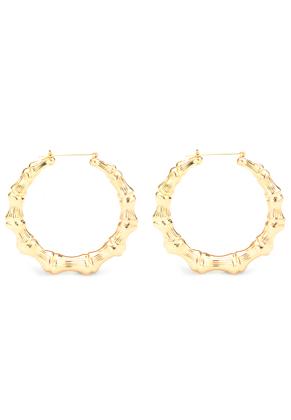 www.snowfall-beads.com - Metal earrings 75x73mm